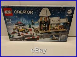 Lego 10259 Creator Winter Village Station Christmas Scene New & Sealed