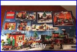 Lego 10259 Winter Village Station & 10254 Winter Holiday Train RETIRED XMAS SETS