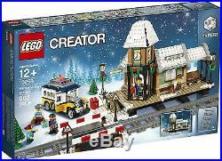 Lego 10259 Winter Village Station Holiday Christmas Set Train Retired Building