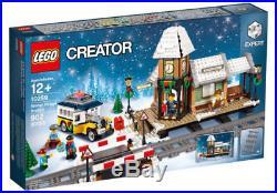 Lego 10259 Winter Village Train Station Set Brand New Sealed Christmas 2017