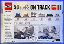 Lego (4002016) 50 Years on Track Employee Christmas Gift 2016 Rare Exclusive