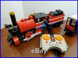 Lego MOC Polar Express Christmas Steam Engine Train Motorized Remote Controlled
