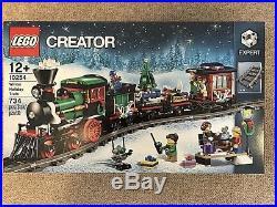 Lego New Genuine Creator Expert Set Christmas Winter Holiday Train (10254)