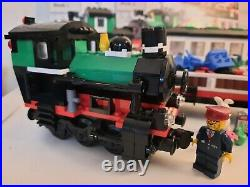Lego christmas winter holiday train set 10173 train 100% complete + instructions