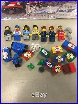 Lego set 10173 Christmas Holiday Train used with instructions OBO