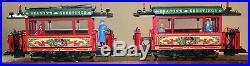 Lgb 20355 Season's Greetings Christmas Train Trolley/tram Set. G Scale # Ltd. Ed