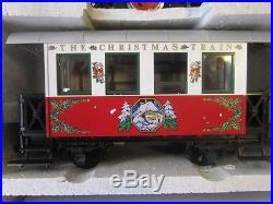 Lgb 20540 Christmas Santa Train Set