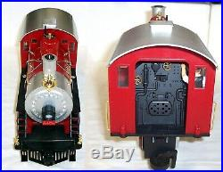 Lgb 72325 Santa Christmas Holiday Train Set With Smoke Sound And Led Lights