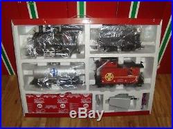 Lgb 72423 Santa Fe Freight Train Set Complete Light & Smoke Ln In Box Christmas