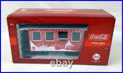 Lgb Coca Cola Christmas Holiday G Scale Train Set Santa Engineer