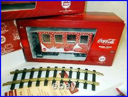 Lgb Coca Cola Christmas Holiday Train Starter Set 1