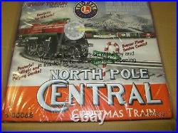 Lionel 30068 North Pole Central Christmas Train Set New