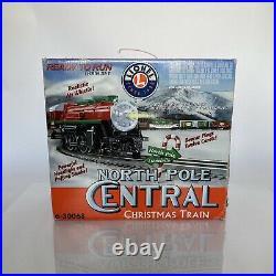 Lionel 6-30068 North Pole Central Christmas Train Set O Scale