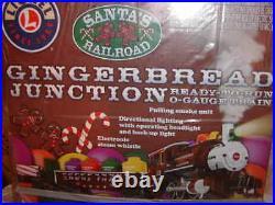 Lionel 6-30219 Gingerbread Junction Docksider Train Set 027 New 2013 Christmas