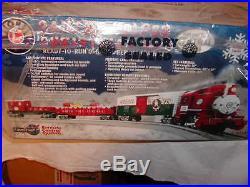 Lionel 6-82545 Santa's Helper Docksider Christmas Train Set O-27 LionChief MIB