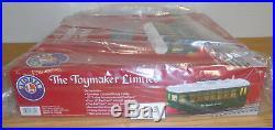 Lionel 6-83694 Christmas Toymaker Motorized Trolley Set Train O Gauge Fastrack
