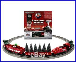 Lionel Christmas Express Electric O Gauge Model Train Set with Remote Bluetooth