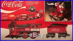 Lionel Coca Cola Train Set G Scale Christmas Whistle Bell Remote Coke 711488