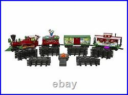 Lionel Disney Mickey Mouse Train Set Ready To Play Christmas Tree 37 Piece