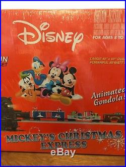 Lionel Mickeys Christmas Express Train Set 6-31946 Ready To Run Animated NOS