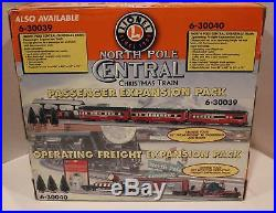 Lionel North Pole Central 6-30068 Christmas Train Set Working Complete