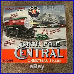 Lionel North Pole Central Christmas Train Set 6-30068