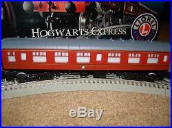 Lionel O Gauge Harry Potter Hogwarts Express Train set 7-11020 nice 4 christmas