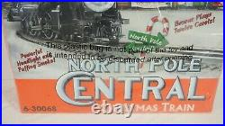 Lionel O Scale North Pole Central Christmas Train Set Item 6-30068 Sealed New
