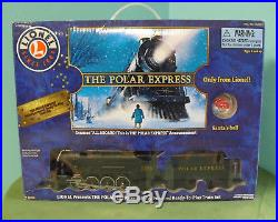 Lionel POLAR EXPRESS Train Set Large Gauge with SANTA'S BELL Christmas Holiday