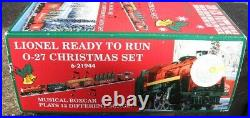 Lionel Ready to Run O-27 Christmas Musical Train Set