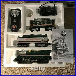 Lionel Silver Bell Express Christmas Train Set 6-30205