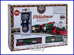 Lionel The Christmas Express Electric HO Gauge Train Set Remote Bluetooth Capabi