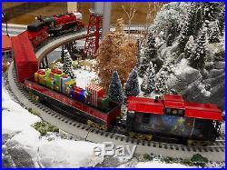 Lionel Christmas Train.Lionel Trains Thomas Kinkade Christmas Lionchief Train Set