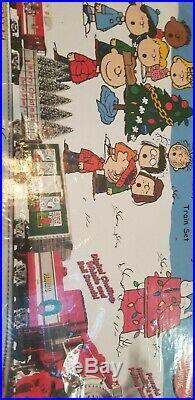 Lionel o gauge merry christmas charlie brown train set