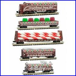 MICRO-TRAINS 993 21 330 Gingerbread Sugar Belt Christmas Set MINT BRAND NEW