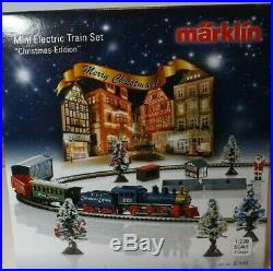 Marklin Z Mini Club 81846 Christmas Train Set new in box