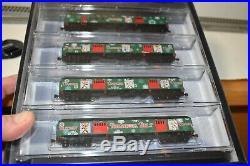 Micro-trains N Scale 993 21 260 Christmas 2015 Reindeer Belt Train Set New