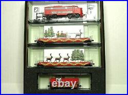 Micro-trains N Scale Christmas Train Set Husky Holiday Hauler 99321290