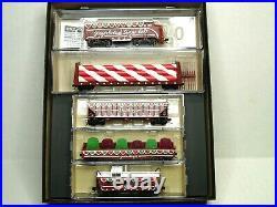 Micro-trains N Scale Gingerbread Sugar Belt Christmas Set 99321330