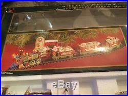 NEW BRIGHT Christmas Train Set THE HOLIDAY EXPRESS # 178 2011