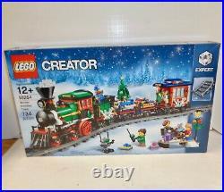 NEW LEGO Creator 10254 Winter Holiday Train Expert Christmas Engine Sealed