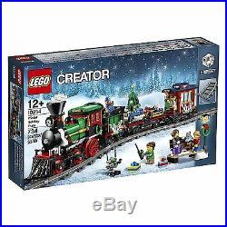 NEW LEGO Creator Winter Holiday Train 10254 Expert Christmas Engine Track NIB