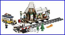NEW LEGO Creator Winter Village Station 10259 Expert Christmas Train Track NIB