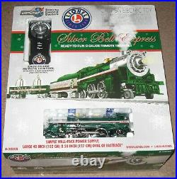 NEW LIONEL 6-30205 LIONCHIEF SILVER BELL EXPRESS Christmas Train set