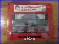 New Micro Trains Evergreen Express Christmas Table Top Train
