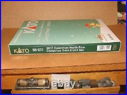 N Scale Kato 2017 Operation North Pole Christmas Train Set 106-2017 NIB
