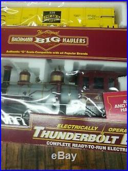 New Bachmann Big Haulers Thunderbolt Express Christmas Tree Train Set
