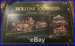 New Bright 380 Holiday Express Christmas Electric Animated Train Set G NBRU0380