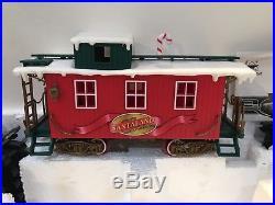 New Bright Electric Train Set Christmas Santaland Musical Animated 376WG