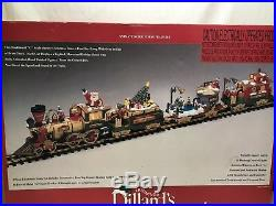 New Bright For Dillards Christmas Electric Animated Train Set-384-10 G-VIDEO EU